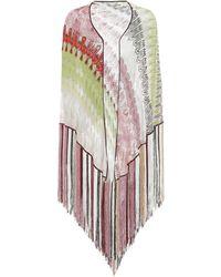 Missoni Chal de lamé con flecos - Multicolor