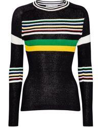 Victoria Beckham Pullover aus einem Baumwollgemisch - Schwarz