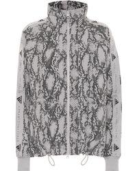 adidas By Stella McCartney Performance Printed Jacket - Gray