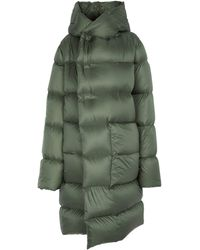 Rick Owens Quilted Puffer Coat - Green