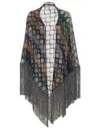 Missoni Fringed Shawl - Multicolor