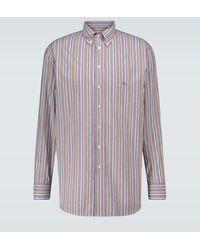 Etro Gestreiftes Hemd aus Baumwolle - Mehrfarbig