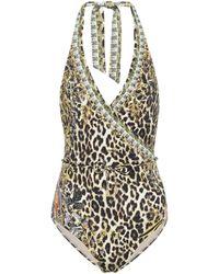 Camilla - Embellished Swimsuit - Lyst