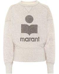 Étoile Isabel Marant Sweatshirt Teloya aus Fleece - Mehrfarbig