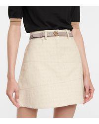 Loewe Leather Belt - Natural