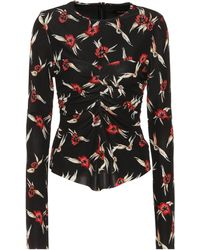 Isabel Marant - Domino Floral-printed Top - Lyst