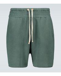Les Tien Shorts Yatch aus Baumwolle - Grün