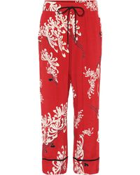 McQ - Printed Trousers - Lyst