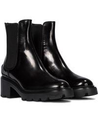 Tod's Bottines Chelsea en cuir - Noir