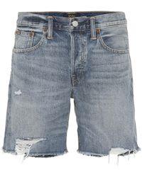 Polo Ralph Lauren - Rylee Denim Shorts - Lyst