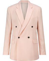 Stella McCartney Oversized Wool Blazer - Pink