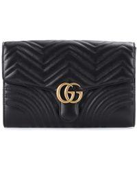 Gucci Pochette GG Marmont - Nero