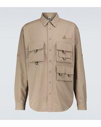 Nike Nrg Acg Devastation Trail Overshirt - Brown