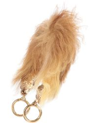 Prada | Shearling Bag Strap | Lyst