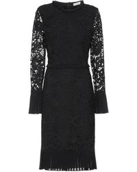 Tory Burch Floral-lace Dress - Black