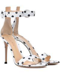 ff6480c95918 Gianvito Rossi - Portofino 105 Leather Sandals - Lyst