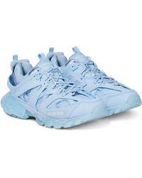 Balenciaga Zapatillas Track Clear Sole - Azul