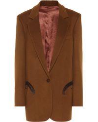 Blazé Milano - Weekend Wool And Cashmere Blazer - Lyst
