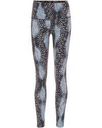 Varley Bedruckte Leggings Estrella - Blau