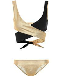 Lisa Marie Fernandez Bikini Marie-Louise - Mettallic