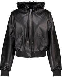 Proenza Schouler Leather Jacket - Black