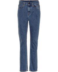 CALVIN KLEIN JEANS EST. 1978 High-Rise Jeans Narrow - Blau