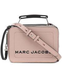 Marc Jacobs Borsa The Box Small in pelle - Neutro