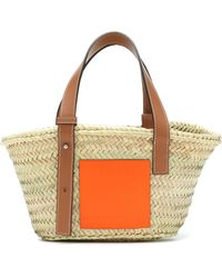 Loewe Paula's Ibiza Small Basket Bag - Natural