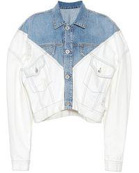 Unravel Project Giacca di jeans - Multicolore