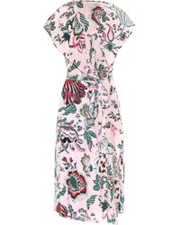 Tory Burch - Floral-printed Dress - Lyst