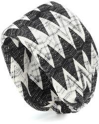 Missoni - Knitted Wool-blend Headband - Lyst