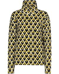 Moncler Genius 3 Moncler Grenoble Ski Top - Yellow