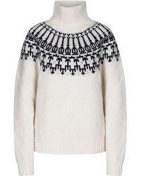 Tory Sport - Fair Isle Merino Wool Sweater - Lyst