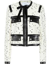Giambattista Valli - Bouclé Wool-blend Jacket - Lyst