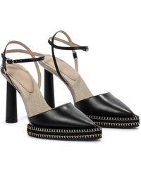 Jacquemus Les Chaussures Novio Leather Pumps - Black