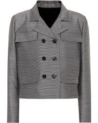 Bottega Veneta - Wool And Silk Jacket - Lyst