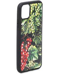 Dolce & Gabbana St Dauphine Iphone 11 Pro Max Case - Green