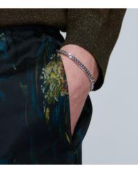 Tom Wood Bracelet chaîne en plaqué-rhodium - Métallisé