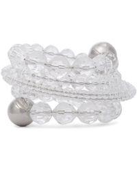 Y. Project Bracelet à ornements - Blanc