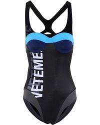 Vetements One-piece Swimsuit - Black