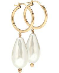 Simone Rocha - Aretes de perlas barrocas - Lyst