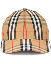 Burberry Vintage-check Cotton Baseball Cap - Multicolour