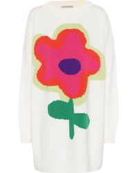Christopher Kane - Oversized Wool Sweater - Lyst