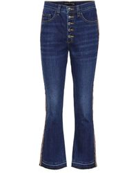 Veronica Beard - Cropped Jeans Carolyn Baby Boot - Lyst