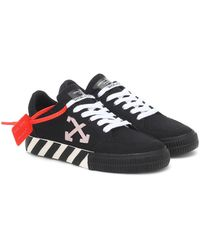 Off-White c/o Virgil Abloh Exclusive To Mytheresa – Arrow 2.0 Canvas Sneakers - Black