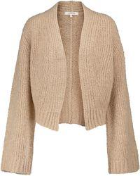 Dorothee Schumacher Luxury Layer Cashmere And Silk Cardigan - Brown