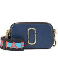 "Marc Jacobs Snapshot "" Cross-body Bag"" - Blue"