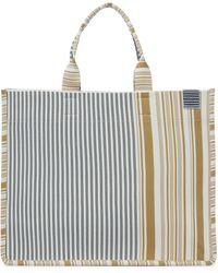 Zimmermann Tote Jacquard Stripe - Amarillo