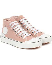 Stella McCartney High-Top-Sneakers - Pink