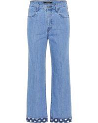 J Brand Jeans Joan de tiro alto - Azul